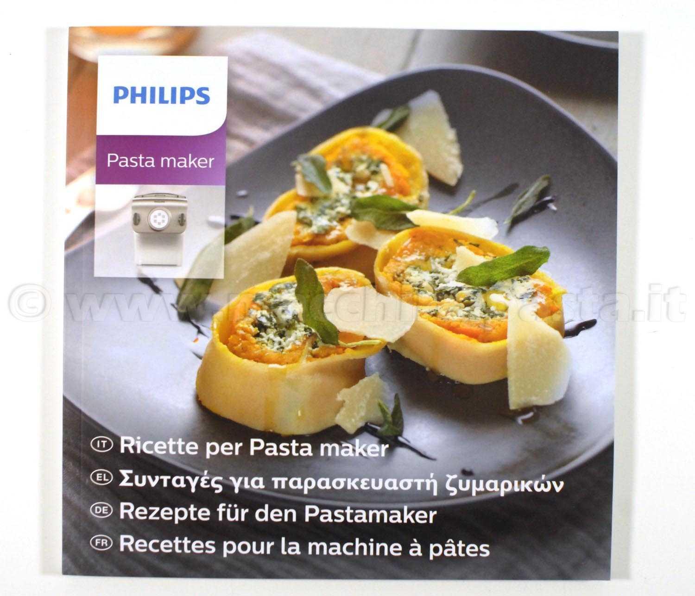 ricette macchina pasta
